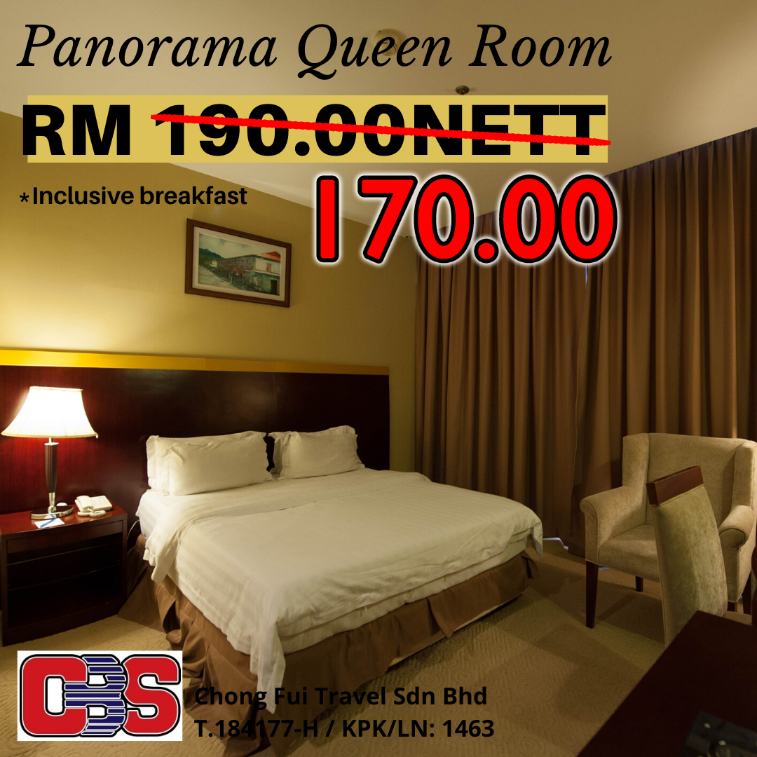 PANORAMA QUEEN ROOM W/ BREAKFAST (GAYA CENTRE HOTEL)
